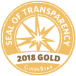 Guidestar gold seal of Transparency 2018